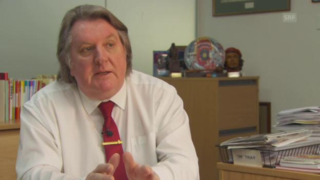 Video «Tony Burke über die Folgen des Brexit für die Autoindustrie» abspielen