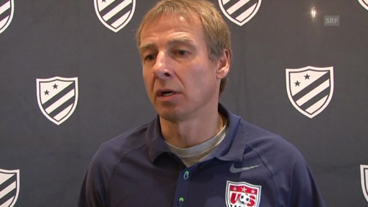 «Ein sehr spezieller Job» - Klinsmann zur Verlängerung (englisch, 14.12.2013))