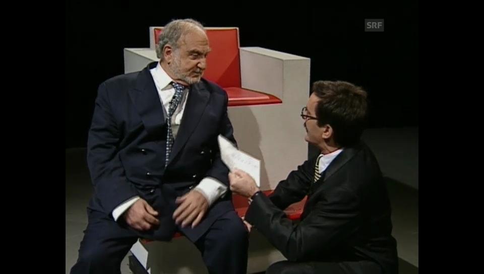 """Der Kniefall beim """"Heissen Stuhl"""""""