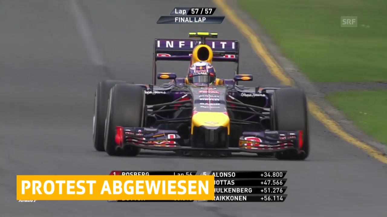 Formel 1: Einspruch von Red Bull zurückgewiesen