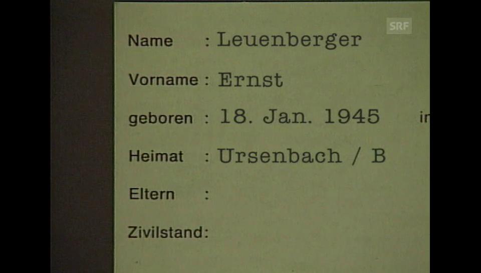 Fichen-Biografie des höchsten Schweizers