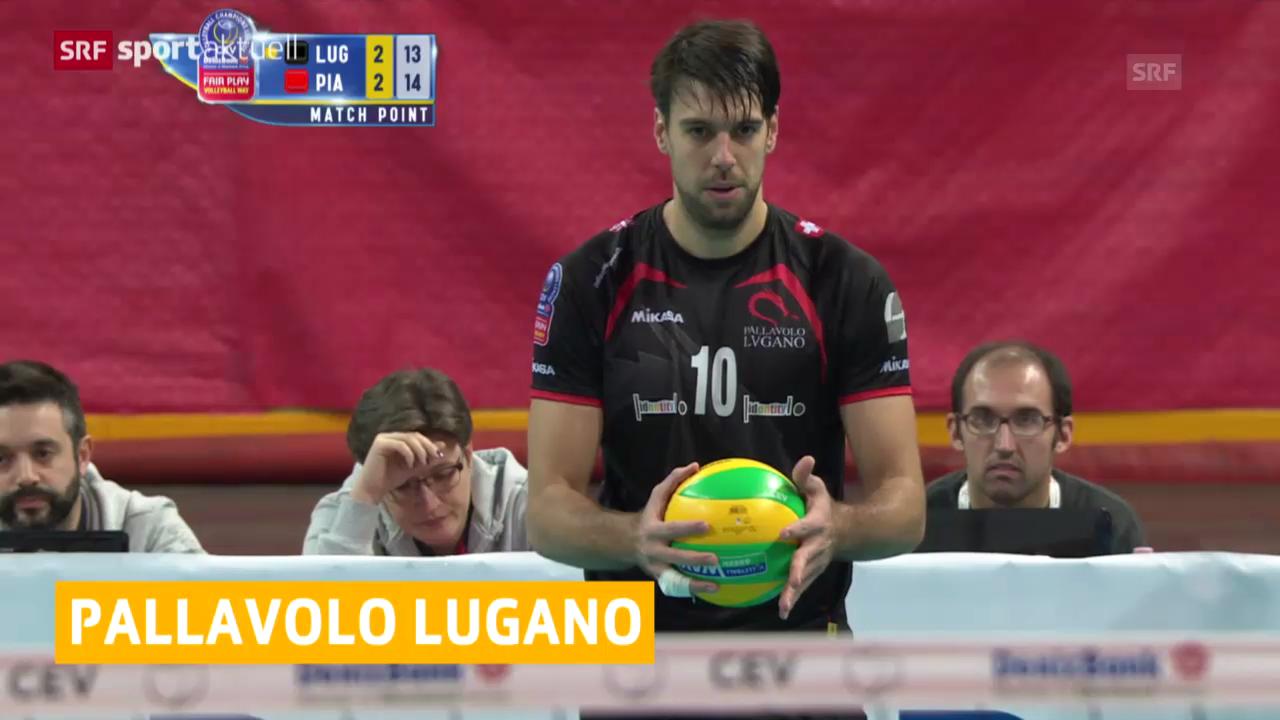 Eine Spielszene aus Lugano-Piacenza
