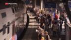 Video «SBB mit mehr Passagieren und besserem Konzernergebnis» abspielen