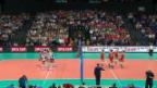Video «Schweiz - Italien: Satzbälle («sportlive»)» abspielen