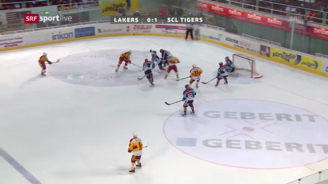 Spielbericht Lakers - Tigers