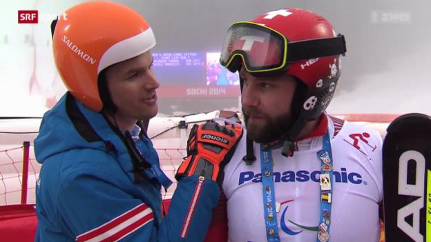 Video «Ski: Stimmen Michael Brügger und Thomas Pfyl» abspielen