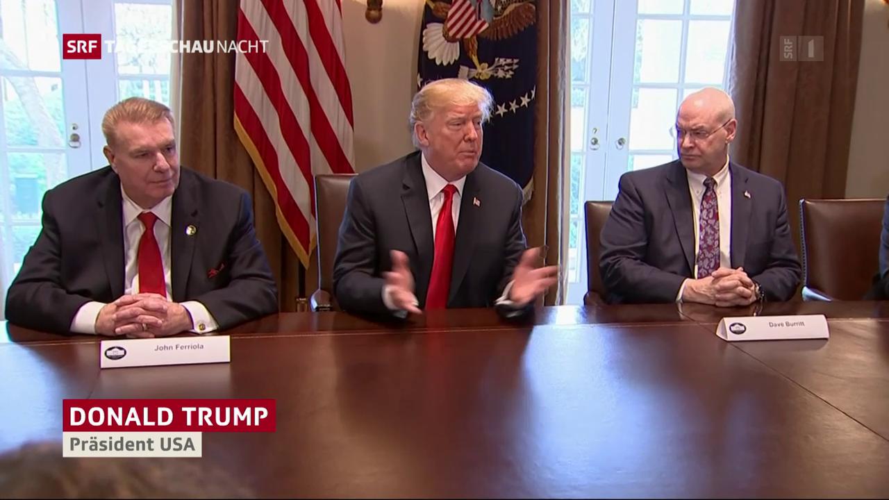 Trump verkündet Zölle auf Stahlimporten