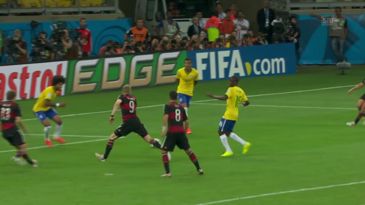 WM 2014: Spielbericht Brasilien - Deutschland