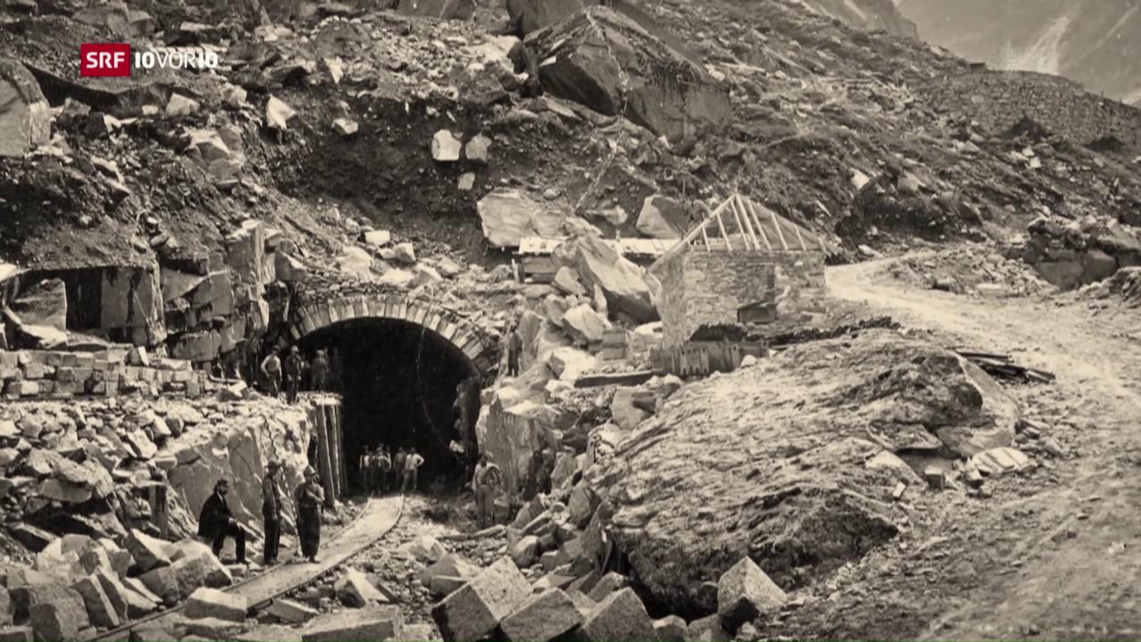 Gotthard-Serie: Die Pionierleistung in den Alpen