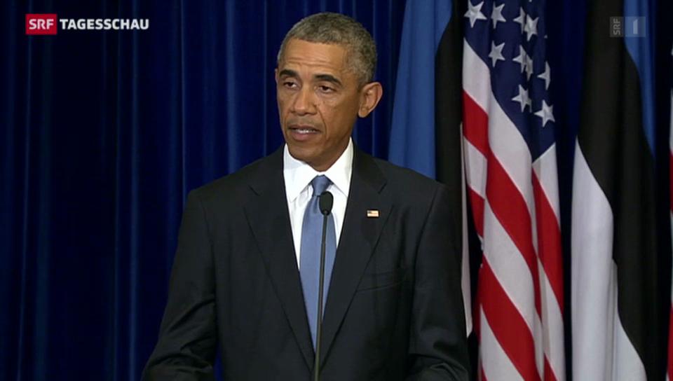 Obama droht mit Vergeltung