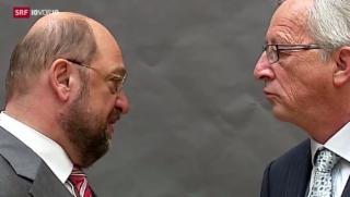 Video «Werbetour für Europawahlen » abspielen