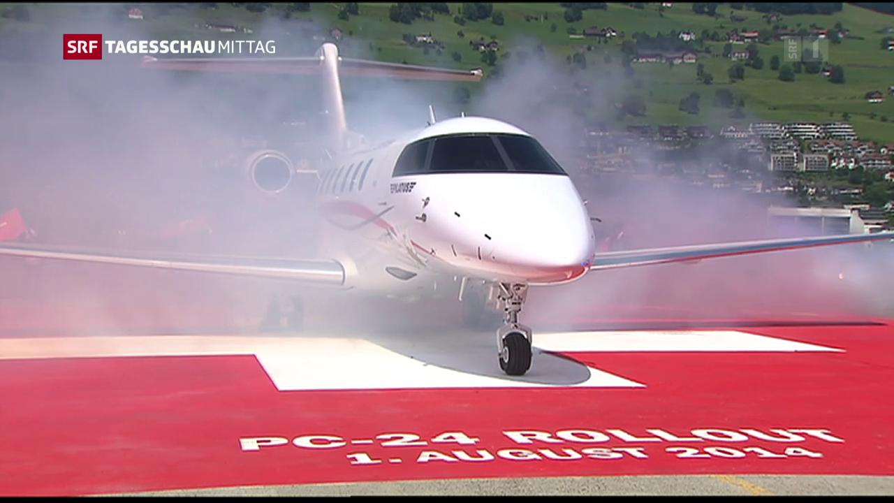 Business-Jet von Pilatus startbereit