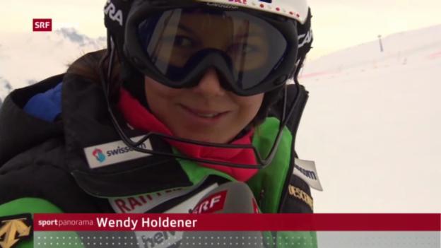 Video «Drittes Gold für Viletta («sportpanorama»)» abspielen