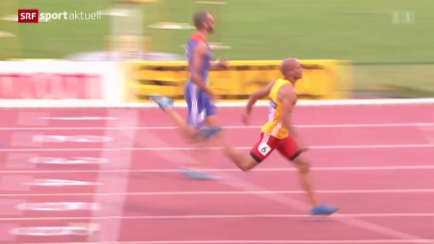 Video «LA: Kariem Hussein am IAAF Continental Cup» abspielen