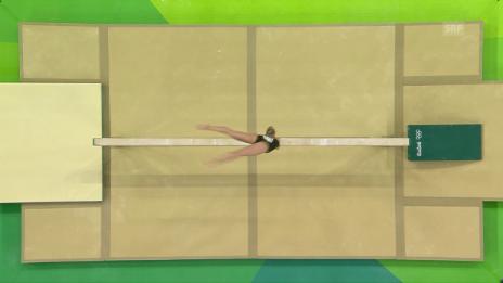 Video «Wevers holt Olympiagold am Balken» abspielen