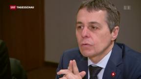 Video «Bundesrätliche Widersprüche zu Rahmenabkommen» abspielen