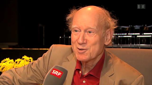 Schweizer Liedermacher feiern Franz Hohler