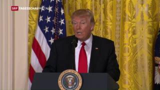 Video «Trump und die Medien» abspielen