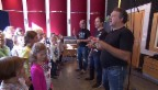 Video «Marco Rima als Dirigent und Komponist» abspielen