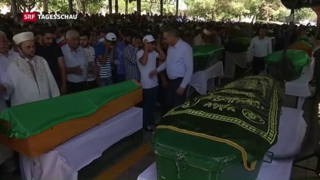 Video «Anschlag auf Hochzeitsfeier in Südtürkei» abspielen