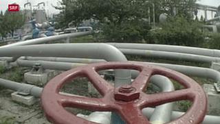 Video «Gasstreit zwischen Russland und der Ukraine spitzt sich zu» abspielen