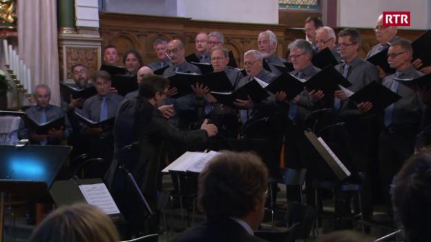 Laschar ir video «Chor viril da Domat - il concert»