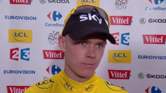 Interview Chris Froome