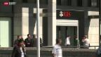 Video «Dreiste Bankräuber noch immer auf der Flucht» abspielen