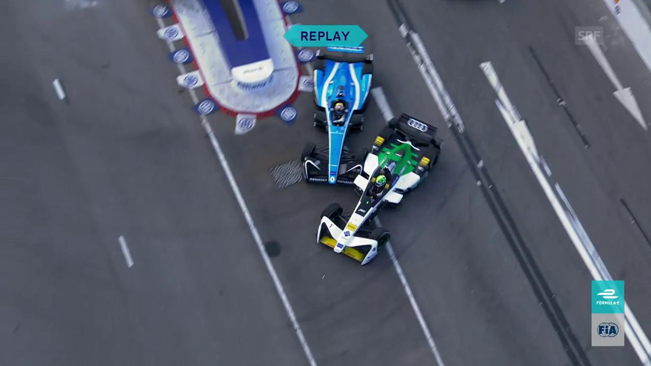 Formel E: Rencontre zwischen Buemi und Di Grassi