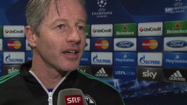 Video «Fussball: CL, Interview mit Schalke-Coach Jens Keller (10.12.2013)» abspielen