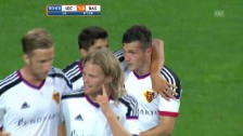 Video «Fussball: CL-Quali, Lech Posen - FC Basel, die Live-Highlights» abspielen