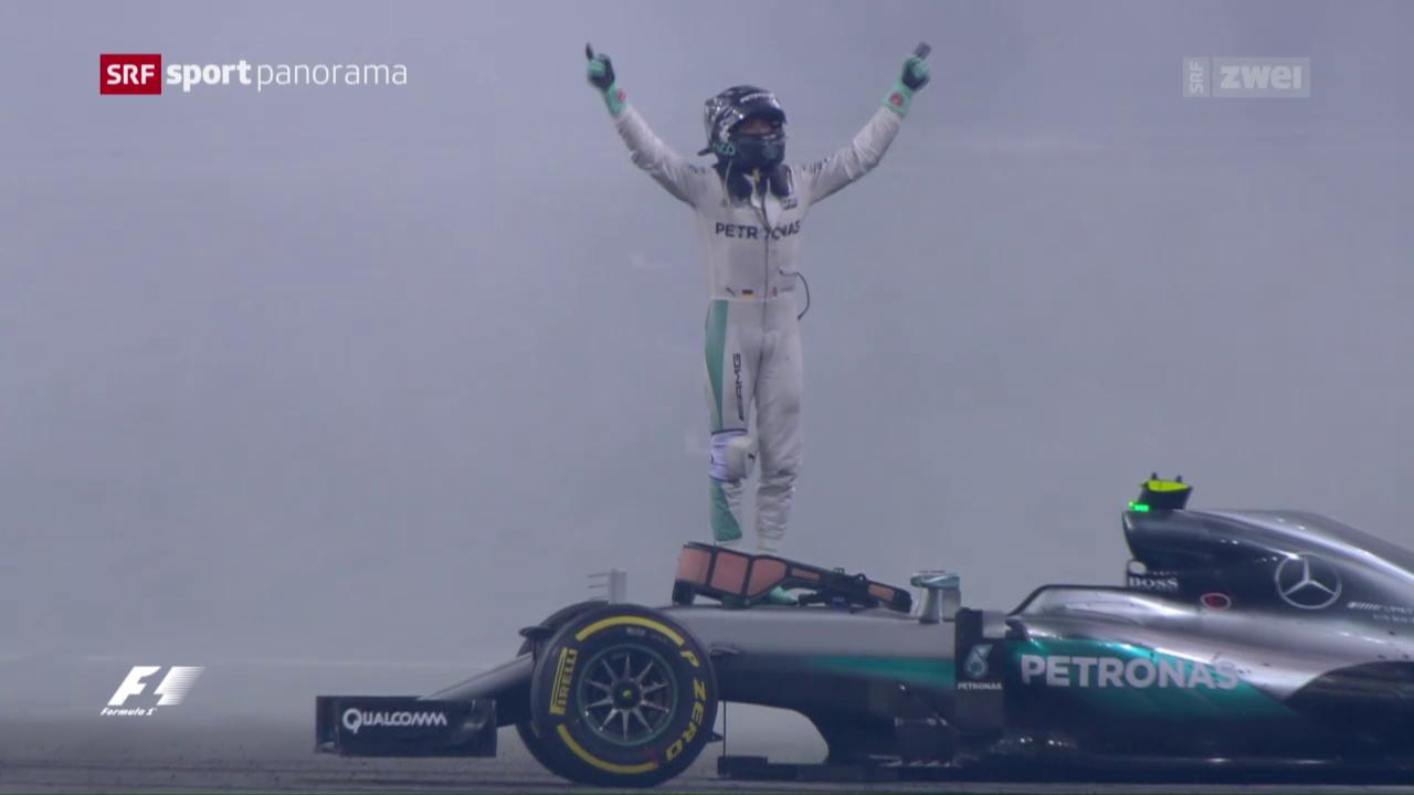 Rosberg zum ersten Mal Formel-1-Weltmeister