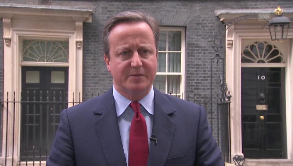 Cameron annunzia demissiun e nova primministra May