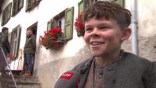 Video «Der Geissenpeter und Heidi über Bruno Ganz» abspielen