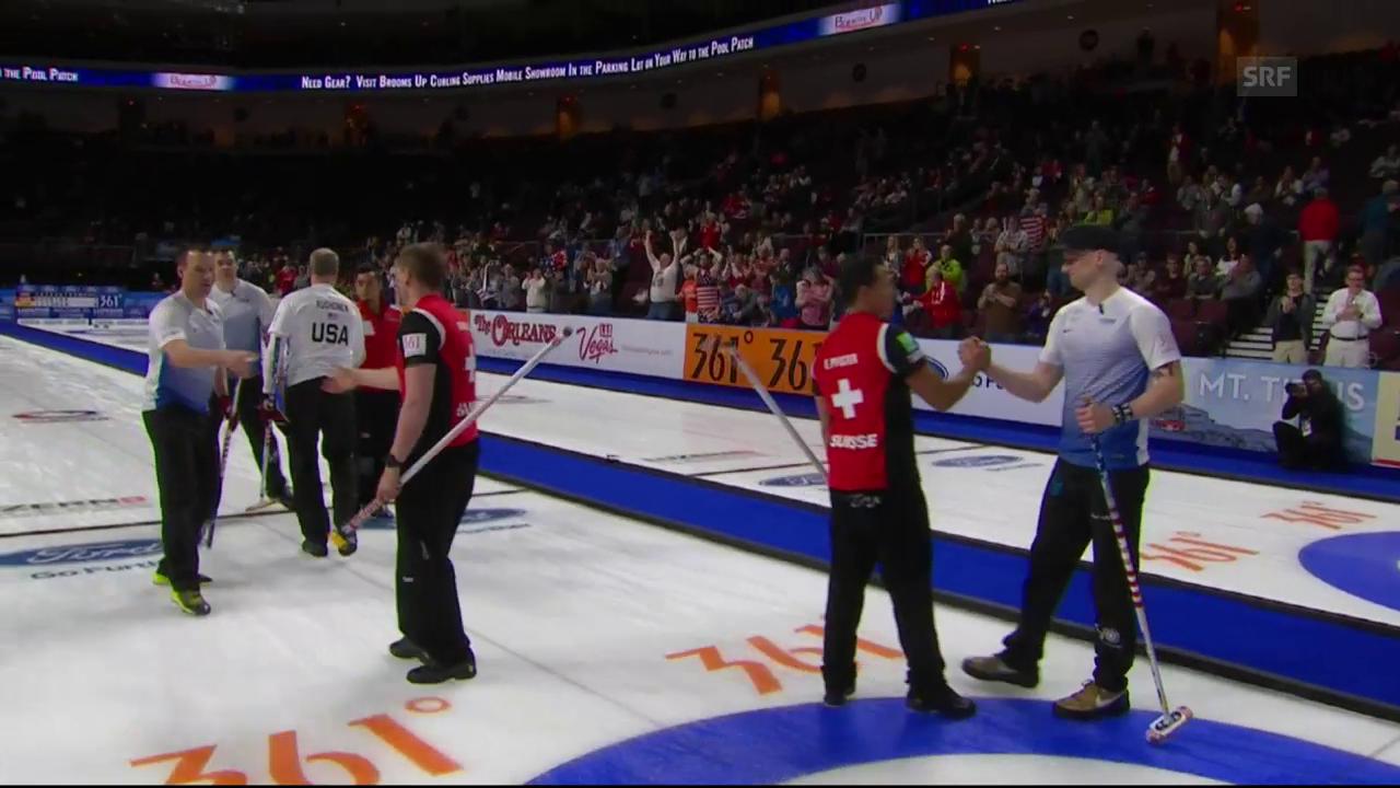 Schweizer Curler nach Niederlage gegen USA ausgeschieden