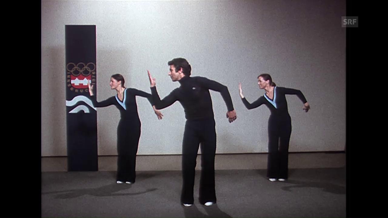 Jazzgymnastik am Schweizer Fernsehen (1976)