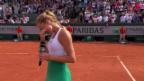 Video «Standing Ovation rührt Mladenovic zu Tränen» abspielen