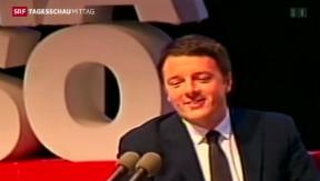 Video «Renzi ist neuer Vorsitzender der Regierungspartei» abspielen