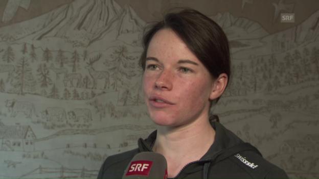 Video «Von Siebenthal: «Habe den Anstieg zur Alpe Cermis geprobt»» abspielen