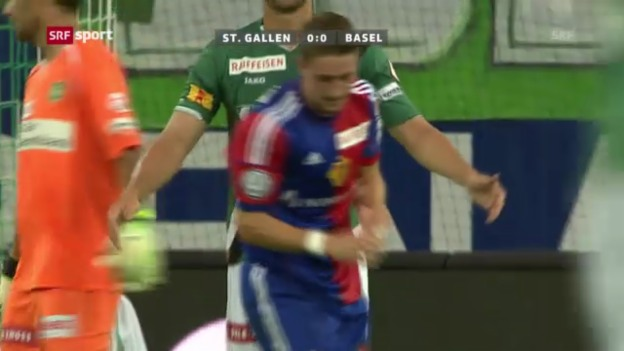 Video «Zusammenfassung St. Gallen - Basel («sportaktuell»)» abspielen