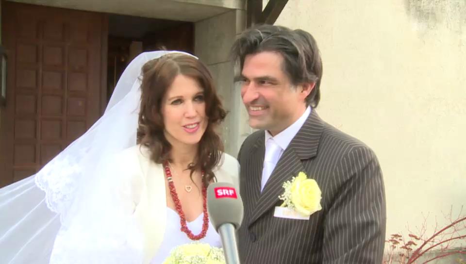 Hochzeit von Gunvor und Roland Meyer