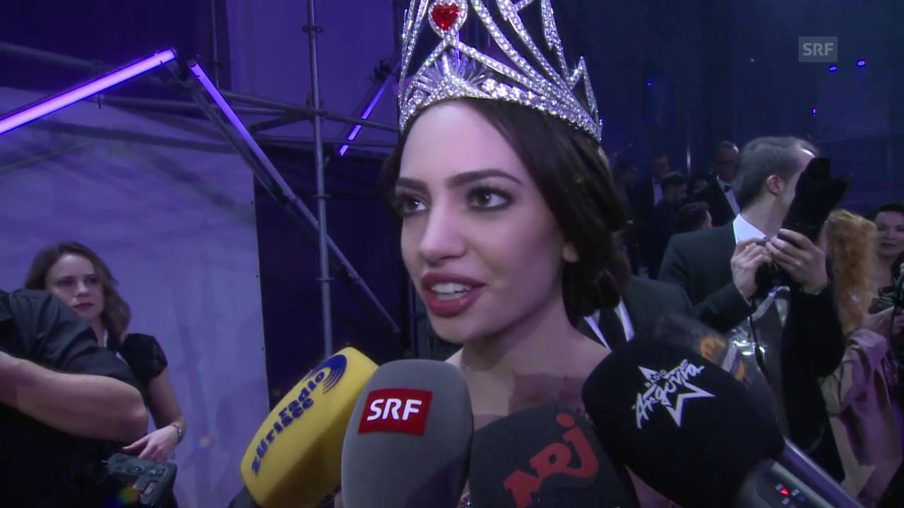 Jastina Doreen Riederers erstes Interview als Miss Schweiz