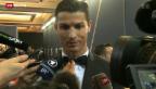 Video «Ronaldo ist Weltfussballer» abspielen