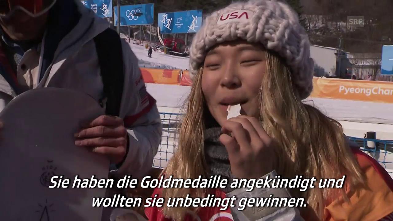 Das genüssliche Gold-Interview mit Halfpipe-Champion Kim