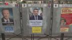 Video «Frankreich einen Tag vor dem ersten Wahlgang» abspielen