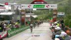 Video «Diego Ulissi gewinnt 5. Etappe der Tour de Suisse» abspielen