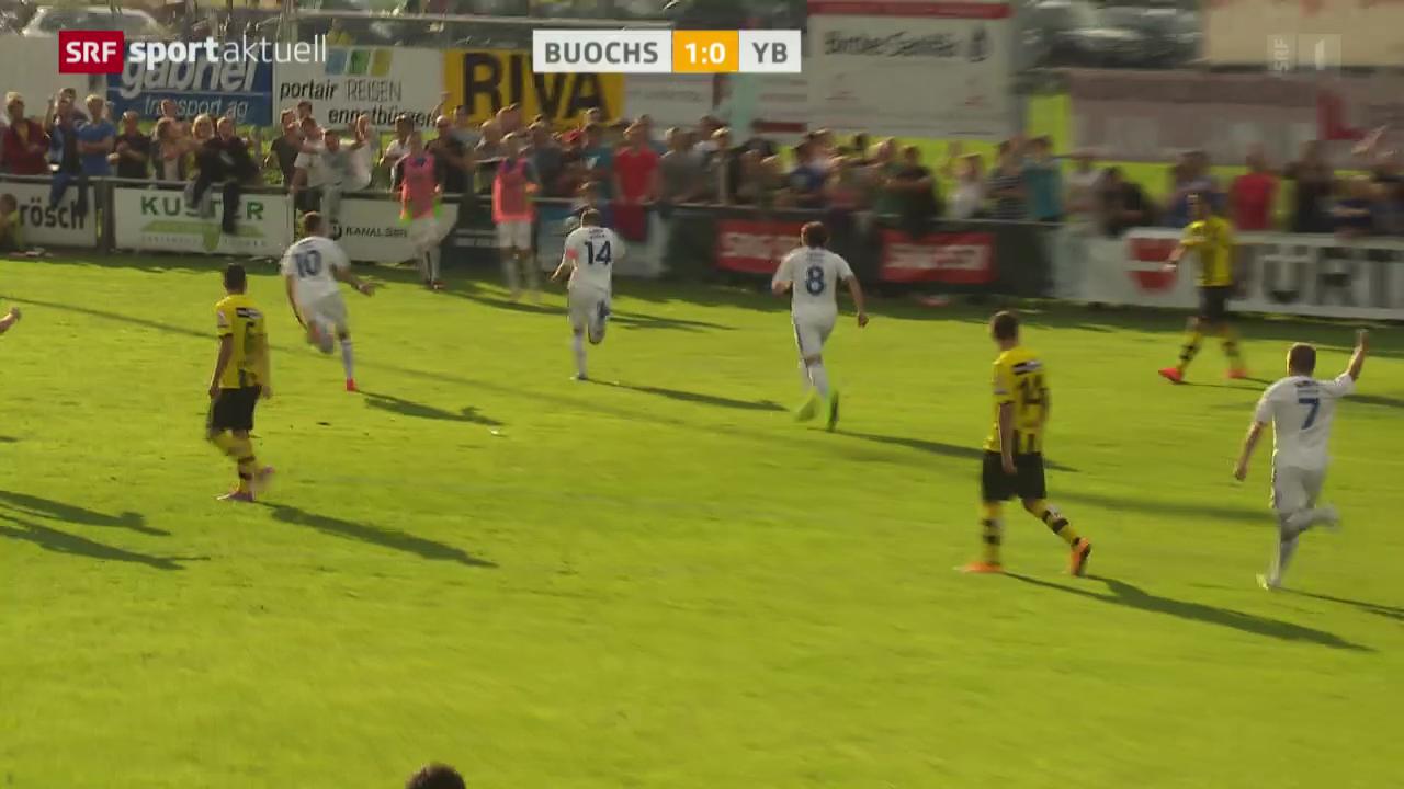Fussball: Schweizer Cup, Buochs - Young Boys