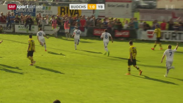 Video «Fussball: Schweizer Cup, Buochs - Young Boys» abspielen