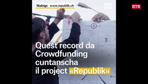 Laschar ir video «Il magazin aveva grand success tar il crowdfunding»