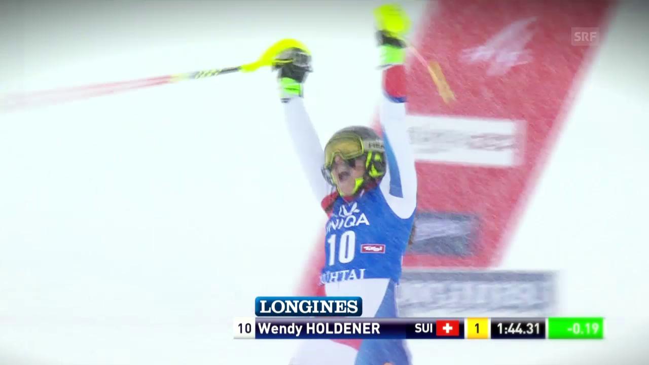 Ski: Die Slalom-Saison von Wendy Holdener
